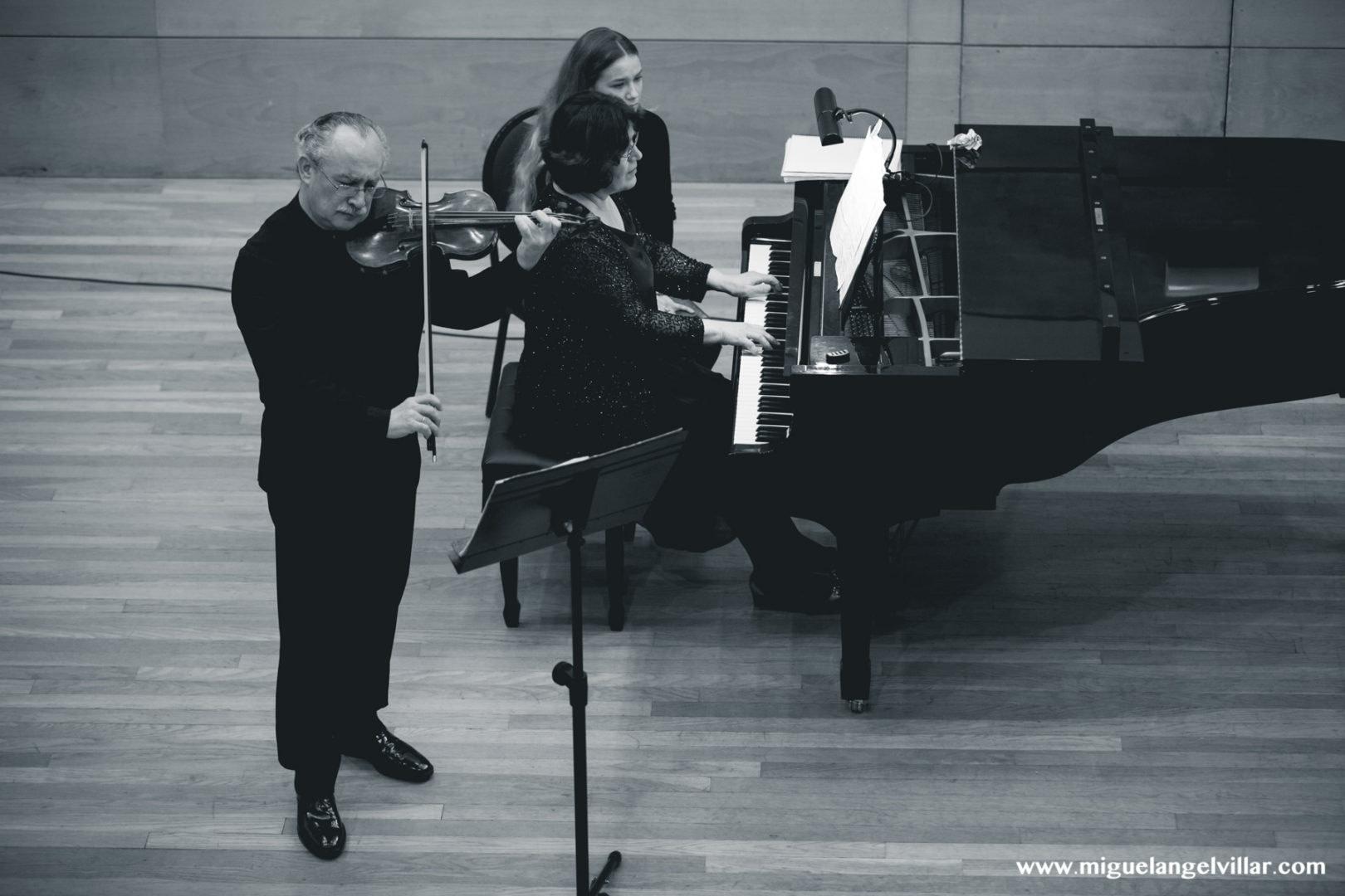 Concierto Piano y violín torrevieja 2017