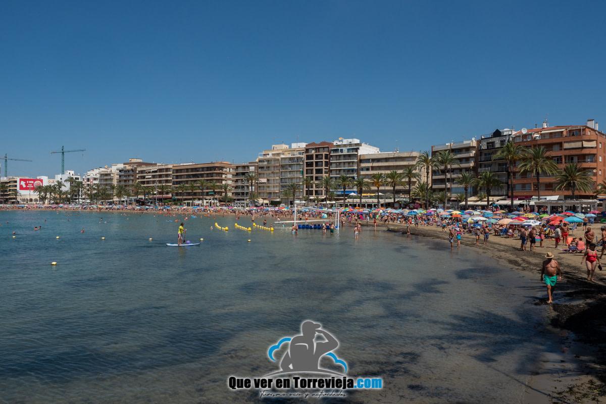Playa del cura Torrevieja