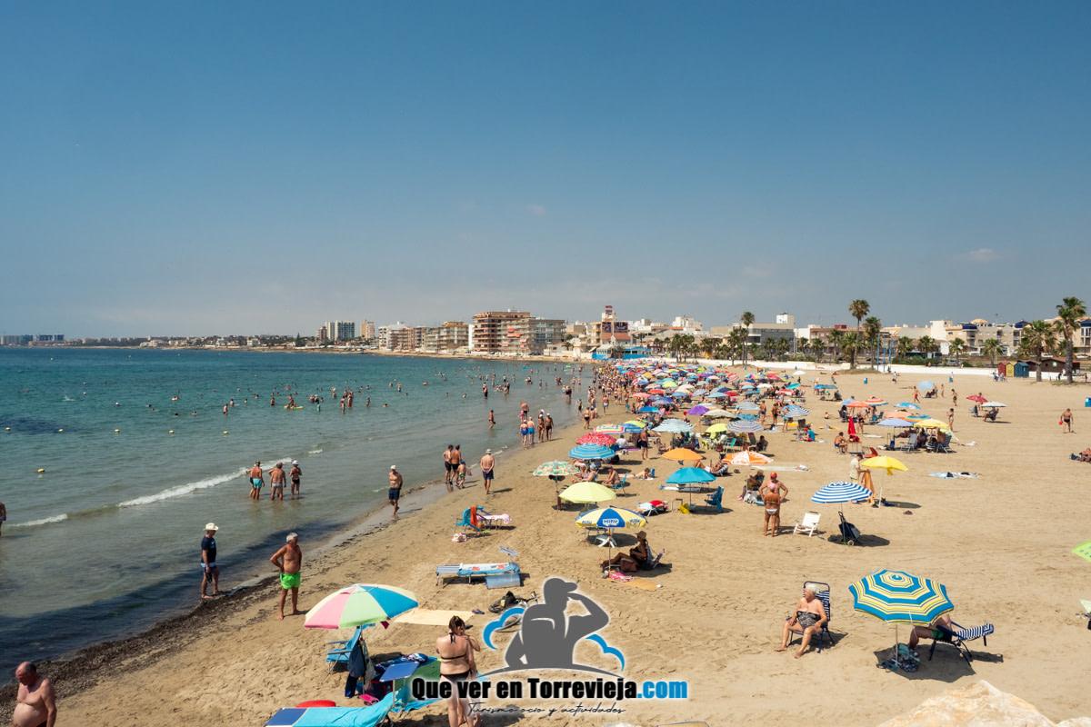 Playa de los Náufragos - Torrevieja