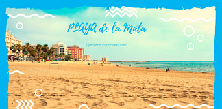 Playa de La mata Torrevieja